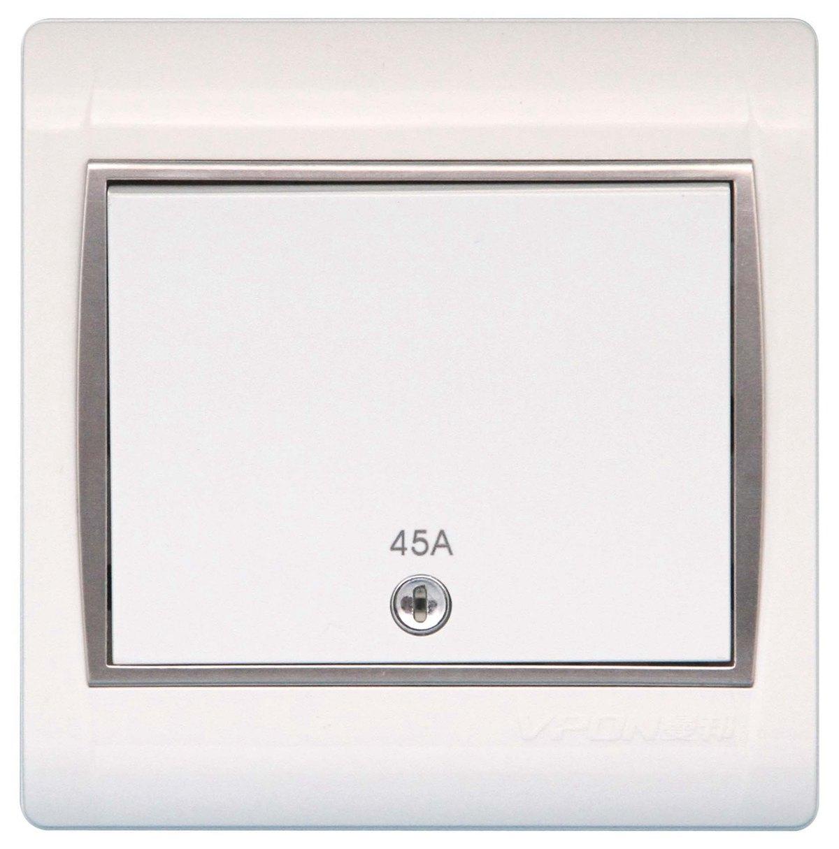 TJ,--45A双制开关带指示灯