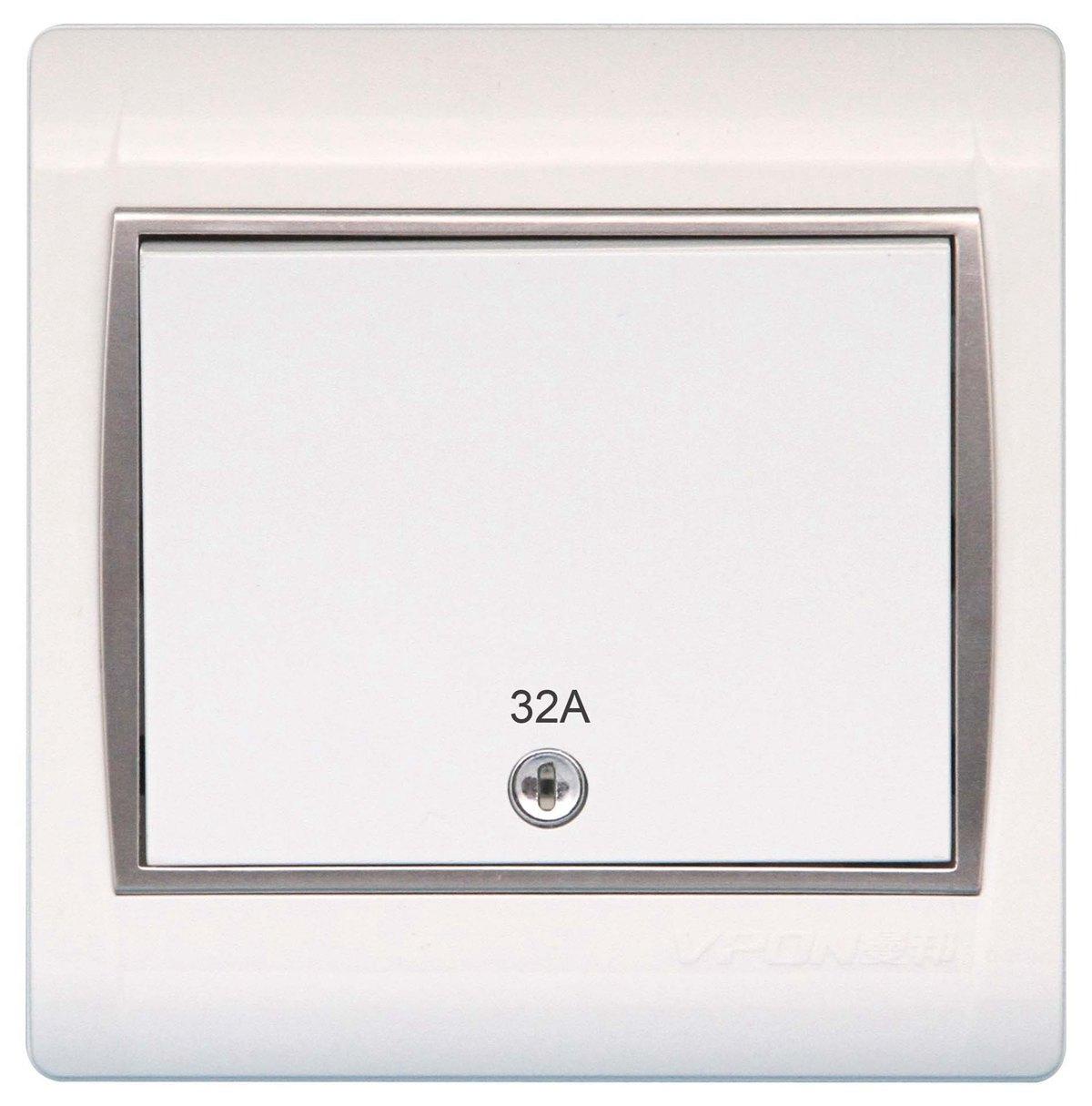 YJ--32A双制开关带指示灯副本